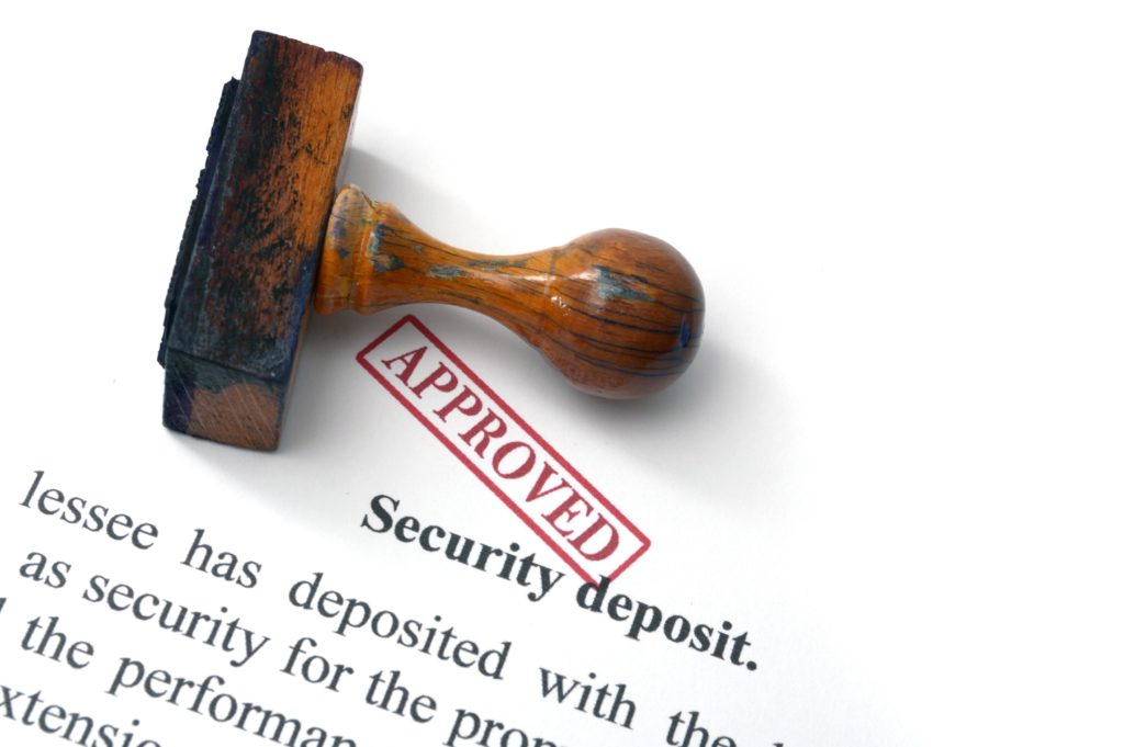 DC Security Deposit Rules